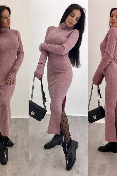 Autumn Sexy Bodycon Dress 2019