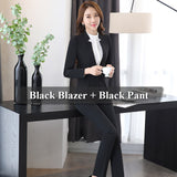 BOSS-IE New 2 piece Gray Pant Suits Formal