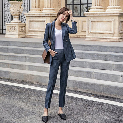 BOSS-IE 2020 Spring New Women's Pants Formal Suit