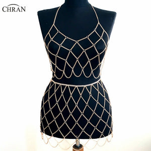 Beach Chain Bra Skirt Jewelry