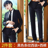 Women Business Pin Stripe Suits Skirt