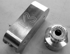 Sandwichbikes aluminium cilinders are CNC milled