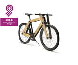 Sandwichbikes Wooden Fork series with automatic 2-speed is rewarded with the GIO good industrial design award