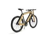 Sandwichbikes Wooden Fork series with 2-gears and aluminium mudguards