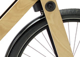 Sandwichbikes Wooden Fork series with aluminium mudguards