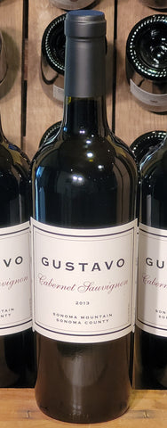 GUSTAVO 2013 Cabernet Sauvignon, Sonoma Mountain-2021 Newly Released! - Gustavo
