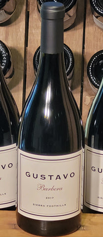GUSTAVO 2017 Barbera, Sierra Foothills-Newly Released! - Gustavo