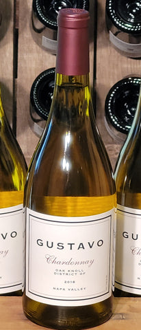 GUSTAVO 2018 Chardonnay, Oak Knoll District-Newly Released! - Gustavo