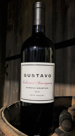 GUSTAVO 2012 Cabernet Sauvignon, Diamond Mountain-Limited Quantities! - Gustavo