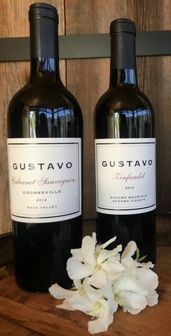 GUSTAVO 2014 Cabernet Sauvignon, Coombsville, Napa Valley- Limited Quantities! - Gustavo