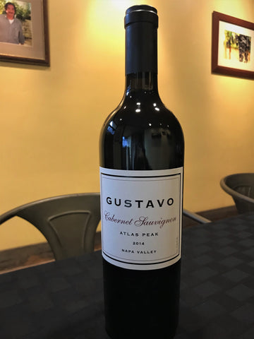 GUSTAVO 2014 Cabernet Sauvignon, Atlas Peak-Newley Released! - Gustavo