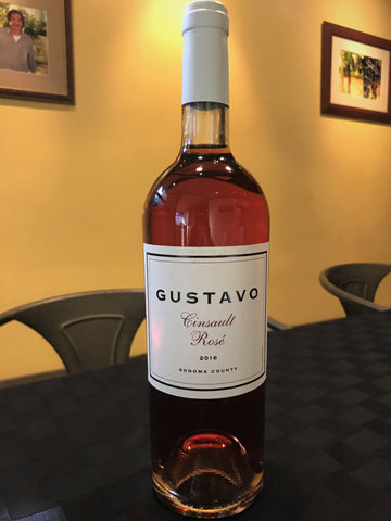 **EXPECT RELEASE SOON- GUSTAVO 2016 Cinsault Rosé, Sonoma County