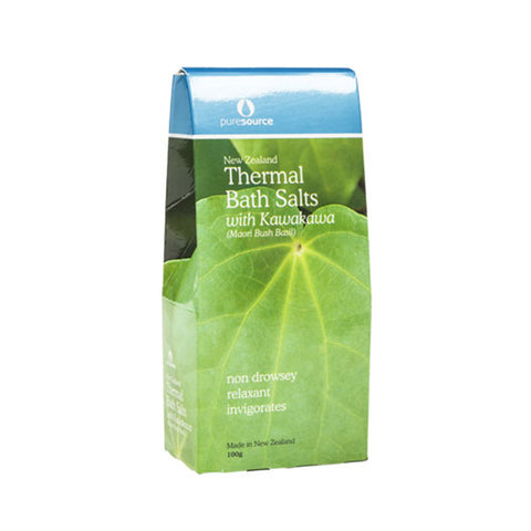 New Zealand Thermal Bath Salts with Kawakawa – 100g