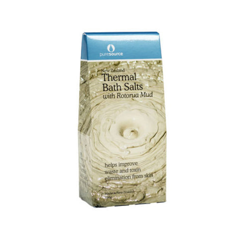 New Zealand Thermal Bath Salts with Rotorua Mud – 100g