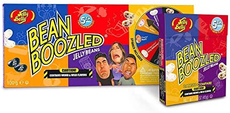 Bean Boozled Spinner Game and 5th Generation Refill 45g