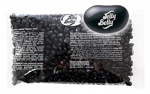 Liquorice Jelly Belly 1kg Bag - Limited Time Offer