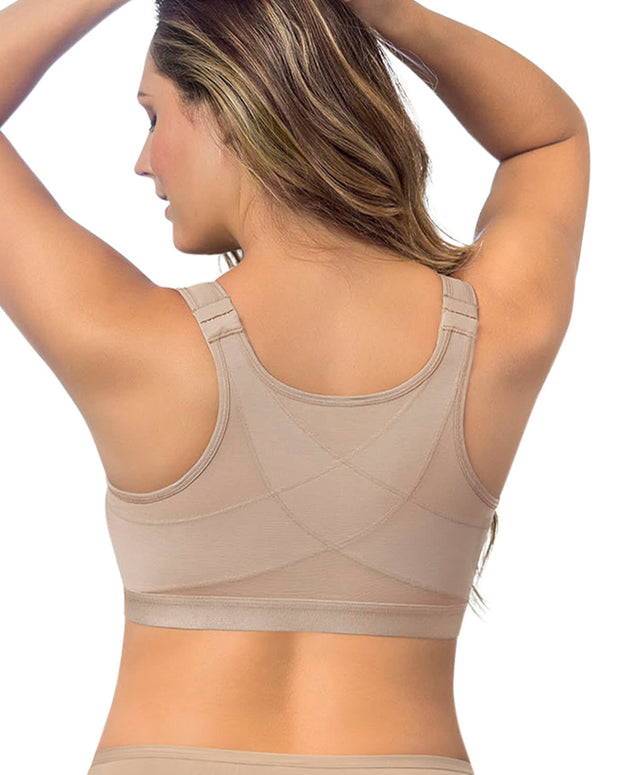 Leonisa Back Support Posture Corrector Wireless Bra