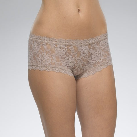 Hanky Panky Signature Lace Boy Short - Taupe