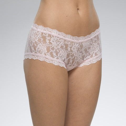 Hanky Panky Signature Lace Boy Short - Bliss Pink