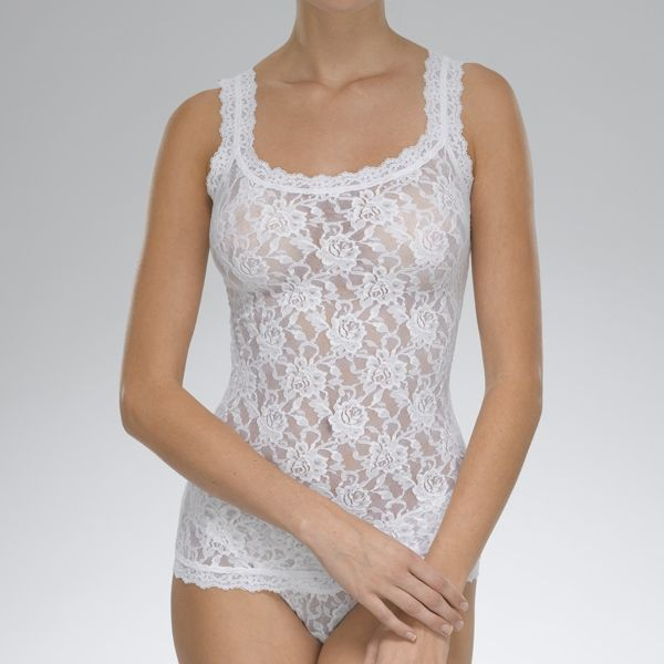 6e51f5040d1 Hanky Panky Signature Lace Unlined Camisole - White – Town Shop
