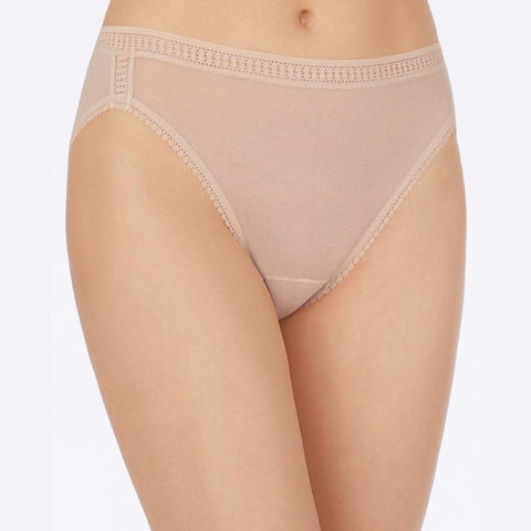 On Gossamer Mesh Hi-Cut Brief
