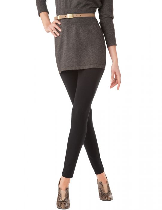 Hue Plus Size Wide Waistband cotton leggings