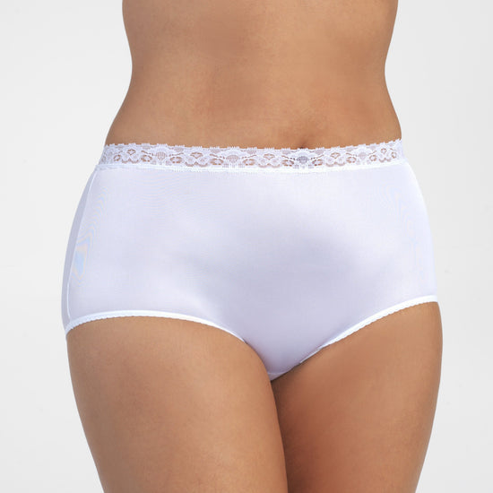 Vanity Fair Perfectly Yours Lace Trim Brief
