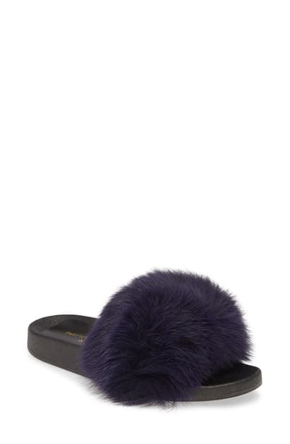 Patricia Green Foxy Fur Slide