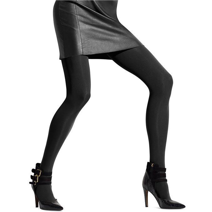 HUE Seamless Opaque Tights - Town Shop  - 1