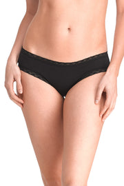 Natori Bliss Girl Brief Panty - Black