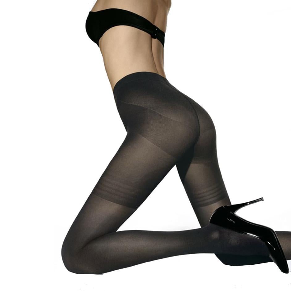Wolford Power Shape 50 Opaque Control Top Tights - Town Shop  - 1