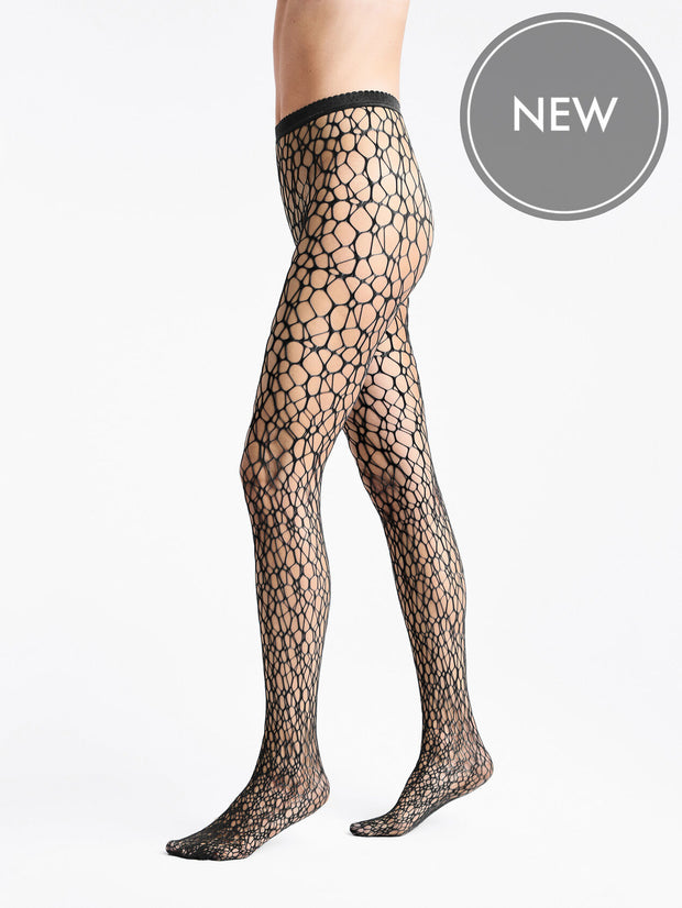 Wolford Micro Fish Scale Tights