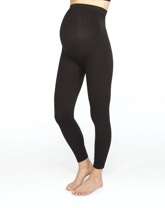 Spanx Mama Look At Me Now Seamless Leggings (Plus)