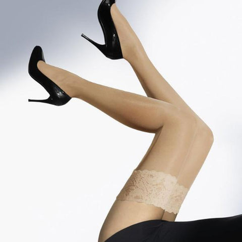 Wolford Satin Touch 20 Stay-Up Thigh Highs