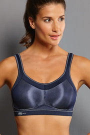 Anita Active Momentum Soft Cup Sports Bra - Blue Iris
