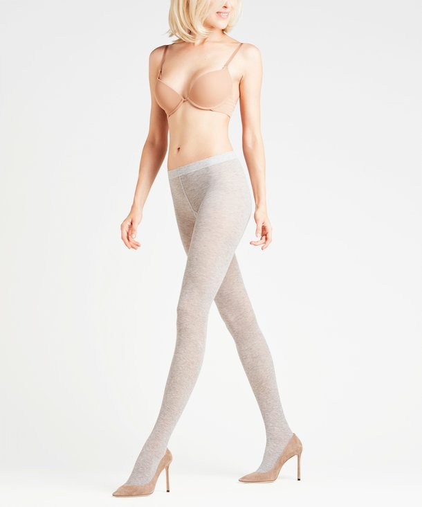 CLASSIC PANTYHOSE GERMANY BEIGE// BLACK WITH GREY BORDERS AND SEAMS