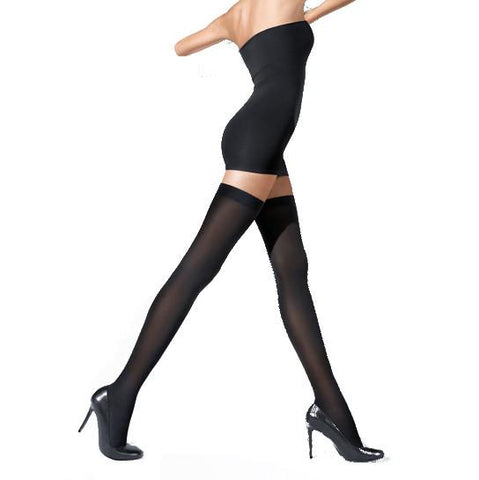 Wolford Fatal 80 Seamless Stay-Up Tights