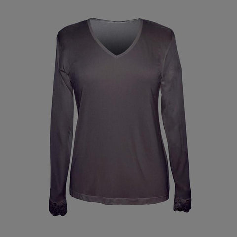 Linda Hartman Silk Knit Top