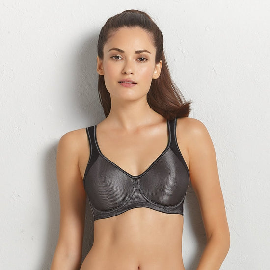 Anita Active Momentum Underwire Sports Bra - Black