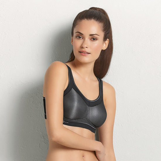 Anita Active Momentum Soft Cup Sports Bra - Black