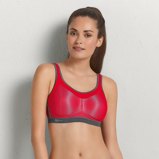 Anita Active Momentum Soft Cup Sports Bra - Red