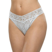 Hanky Panky Crystal I Do Original Rise Thong