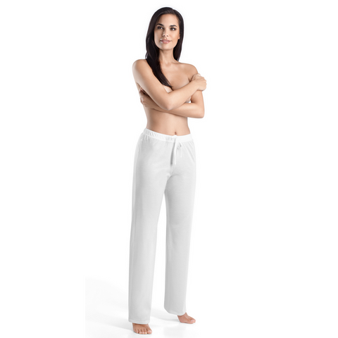Hanro Cotton Deluxe Drawstring Long Pant