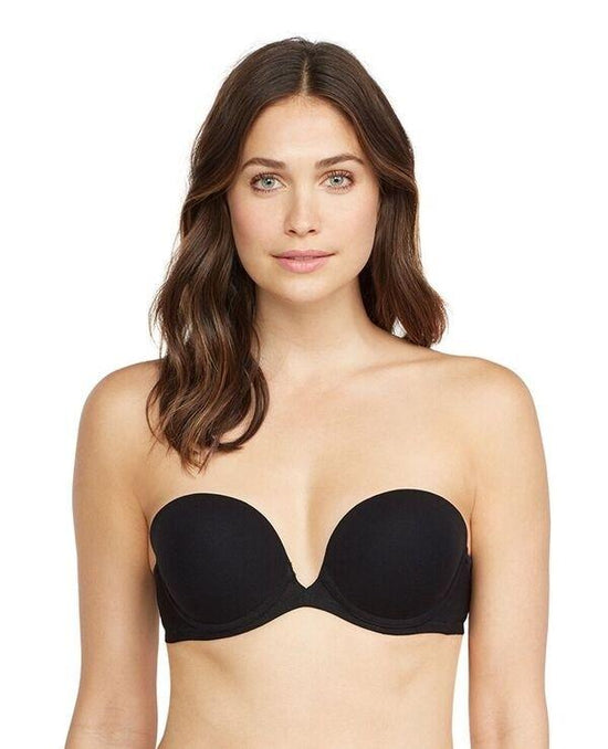 On Gossamer Next to Nothing Plunge Strapless Bra