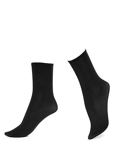 Hue Opaque Anklet Socks