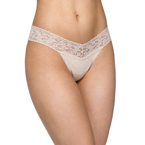 Hanky Panky Cotton With A Conscience Low Rise Thong