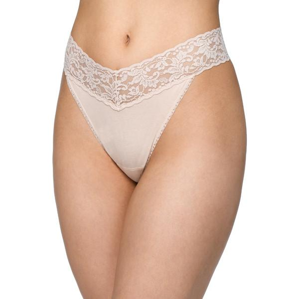 8b3b7f33c5ef Hanky Panky Cotton With A Conscience Original Rise Thong – Town Shop