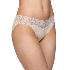 Hanky Panky Organic V-kini with Lace - Town Shop  - 3