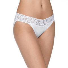Hanky Panky Organic V-kini with Lace - Town Shop  - 4
