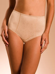 Chantelle C Magnifique High Waist Control Brief - Nude